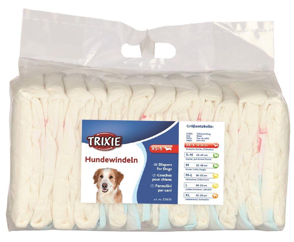 Trixie Bleier Til Hund 12stk XS/S