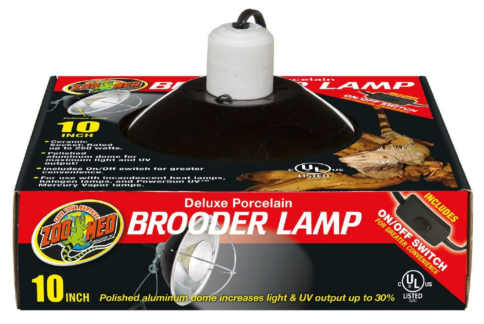 Zoo Med Brooder Lamp 25cm Zoo/Med