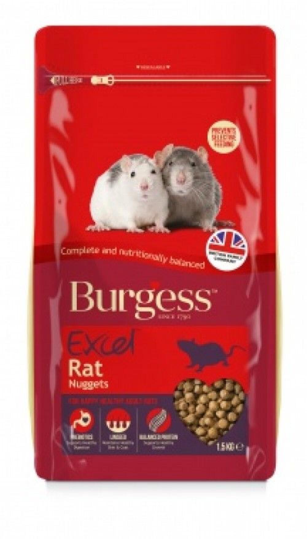 Burgess excel rotte 1,5kg