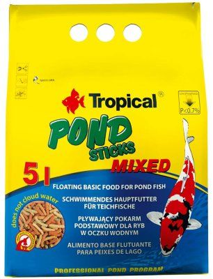 Tropical pond sticks  mix 5l