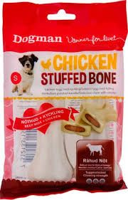 Dogman Chicken stuffed bone s 120g