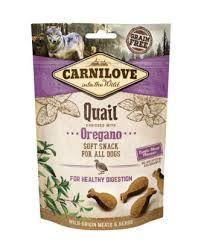 Carnilove quail&oregano soft snack 200g