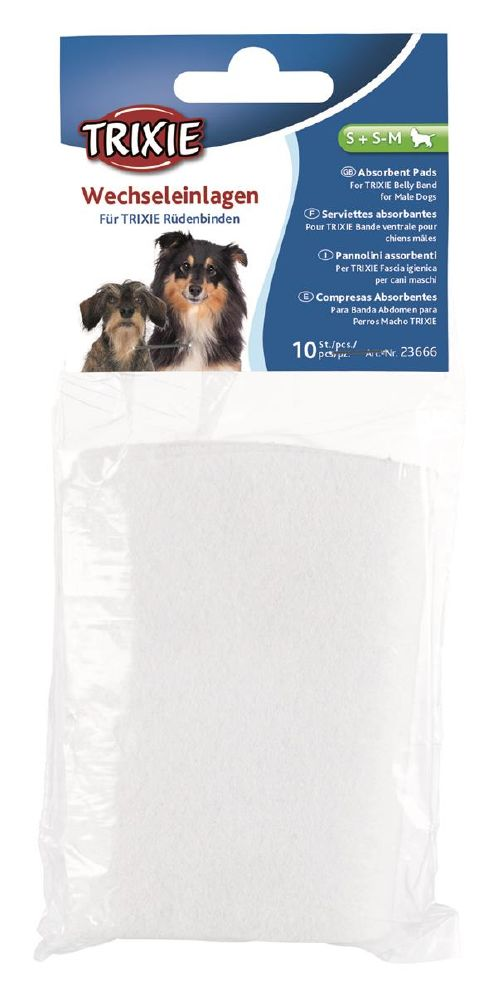 Trixie bellyband refill pads S,S-M