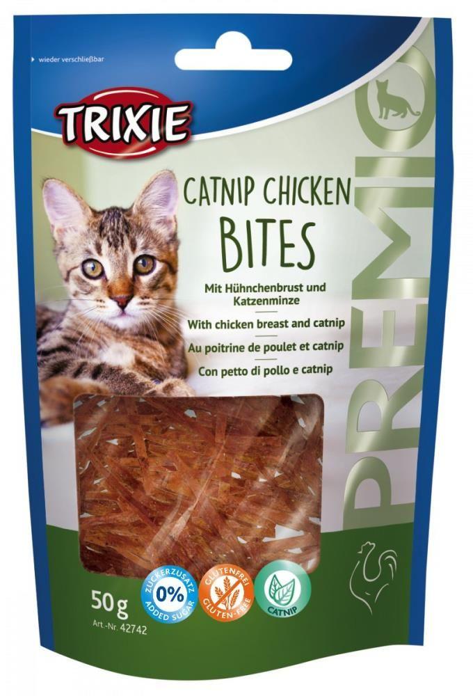 Trixie catnip chicken bites 50gr