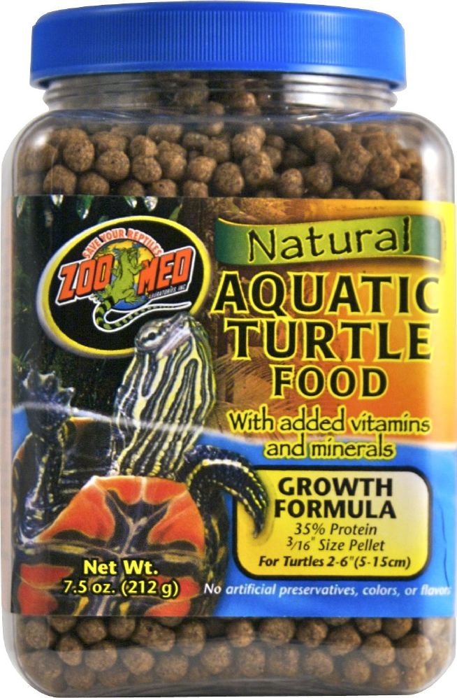 Zoo Med Aquatic turtle food 212g