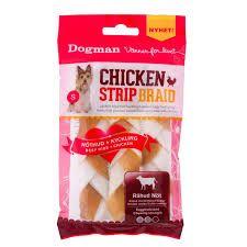 Chicken strip braid small 52gr