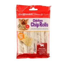 Chicken chip rolls ca 80gr