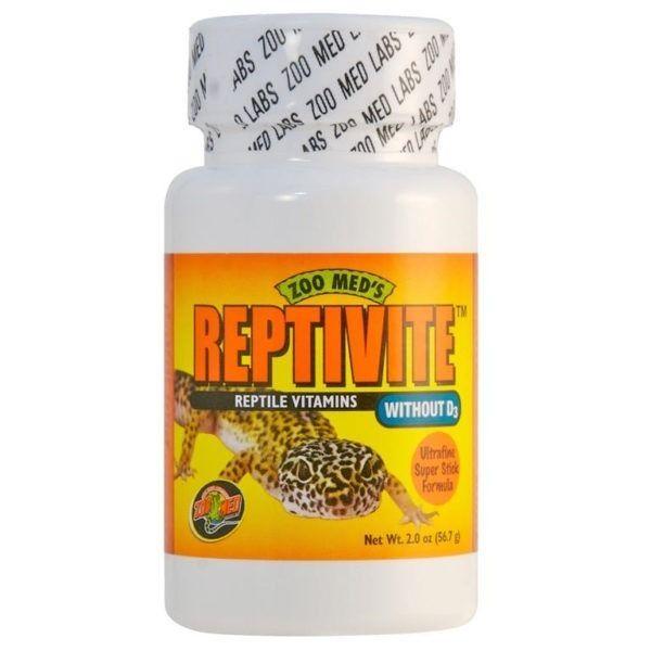 Zoo med reptivite multivitamin Uten/d3