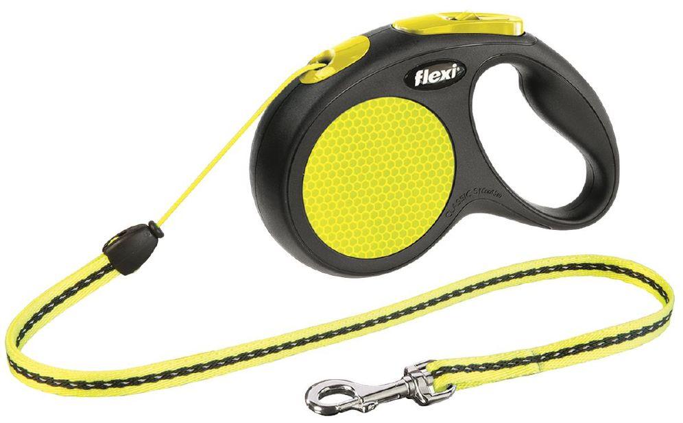 Flexi new neon cord s 5m