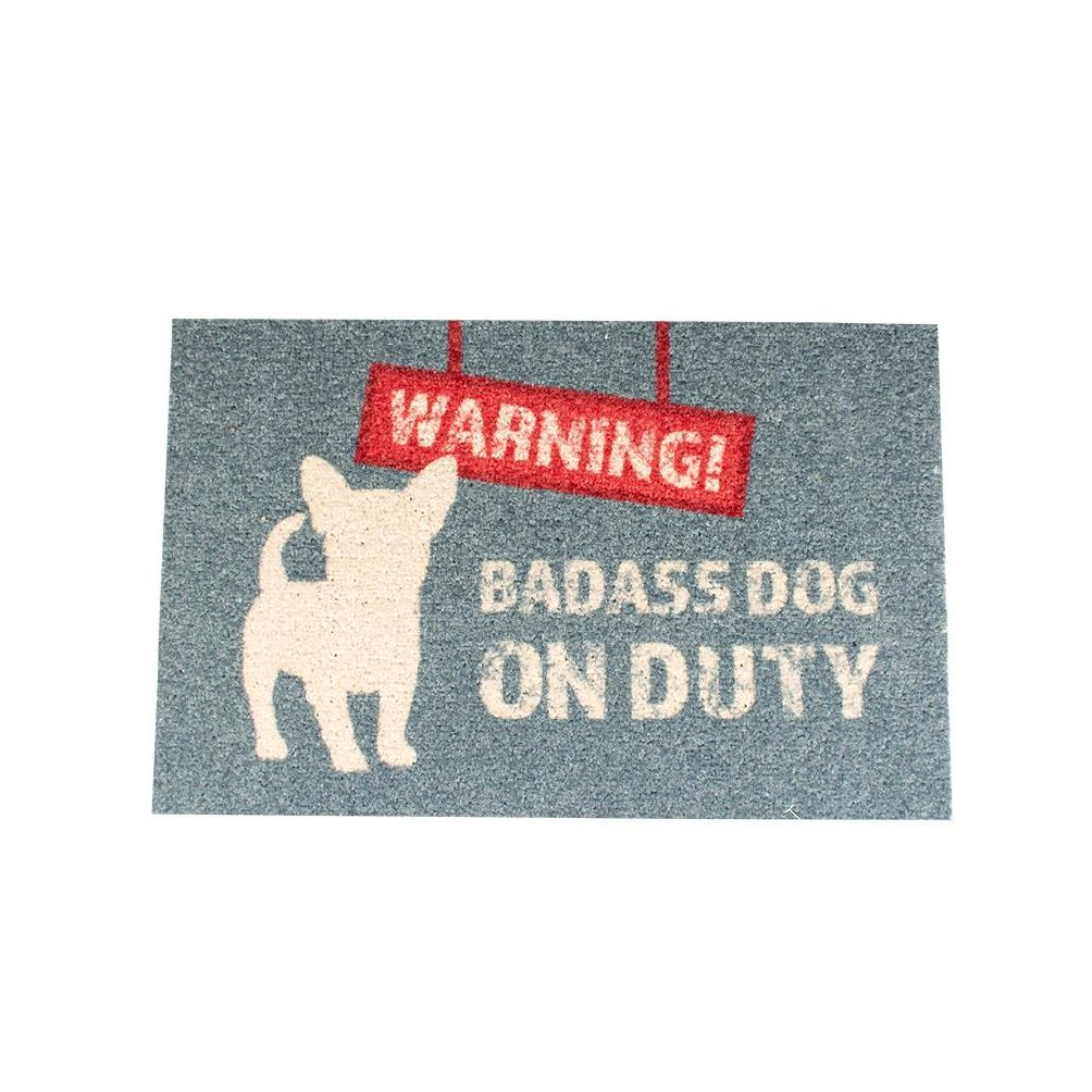 Dørmatte warning