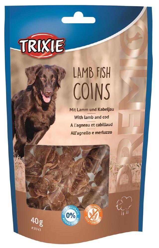 Trixie Lamb fish coins