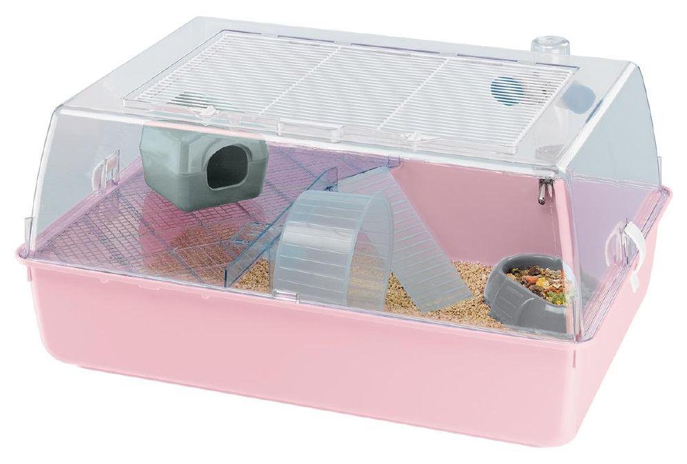 Hamsterbur Mini Duna Plastikk Mix Farger