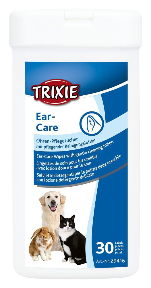 Trixie ear care wipes