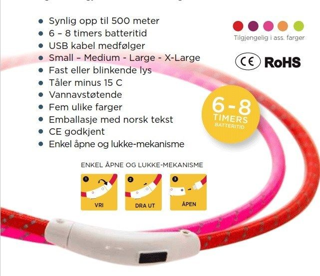 Tass max flashband 38cm