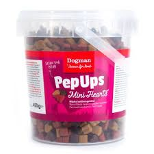 PepUps mini hearts 450gr