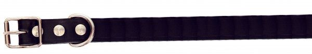 Alac halsbånd lær Sort 2,2x50cm