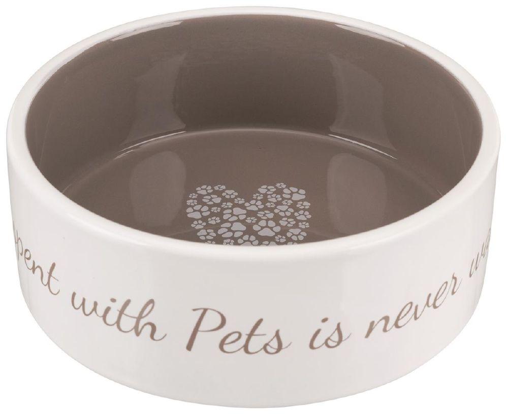 Hundeskål Keramikk Pet`s Home 0,8L