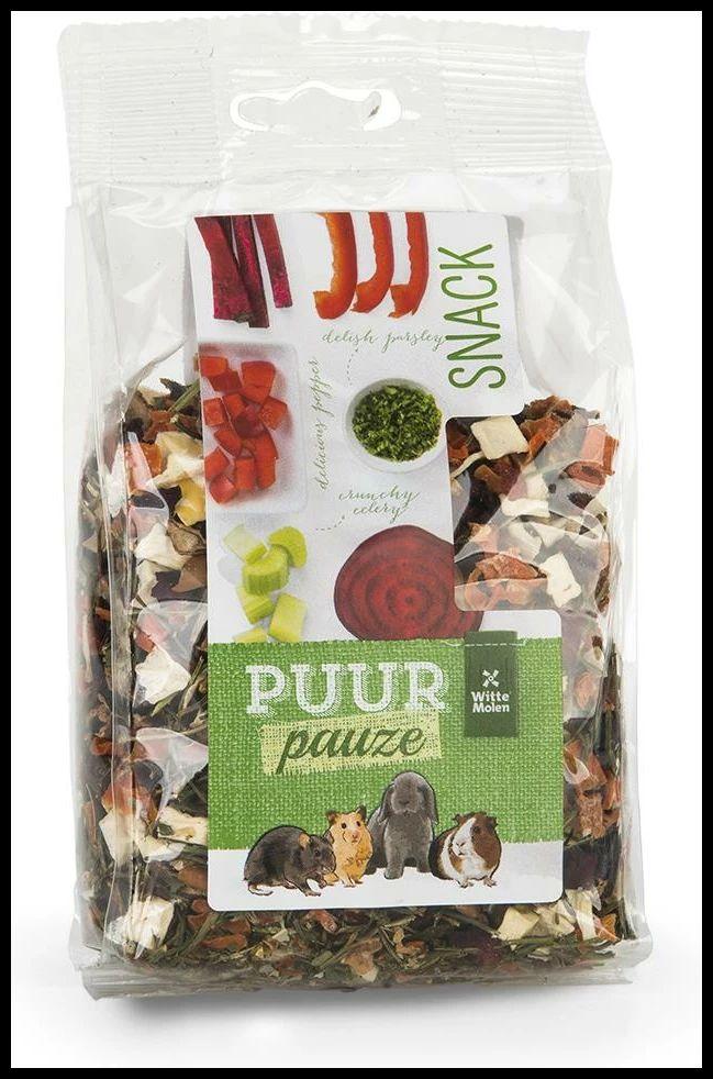 Puur Snacks Gnager M/Grønnsaker & Urter