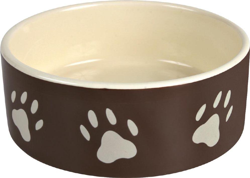 Hundeskål Keramik 0,8L Brun/Creme