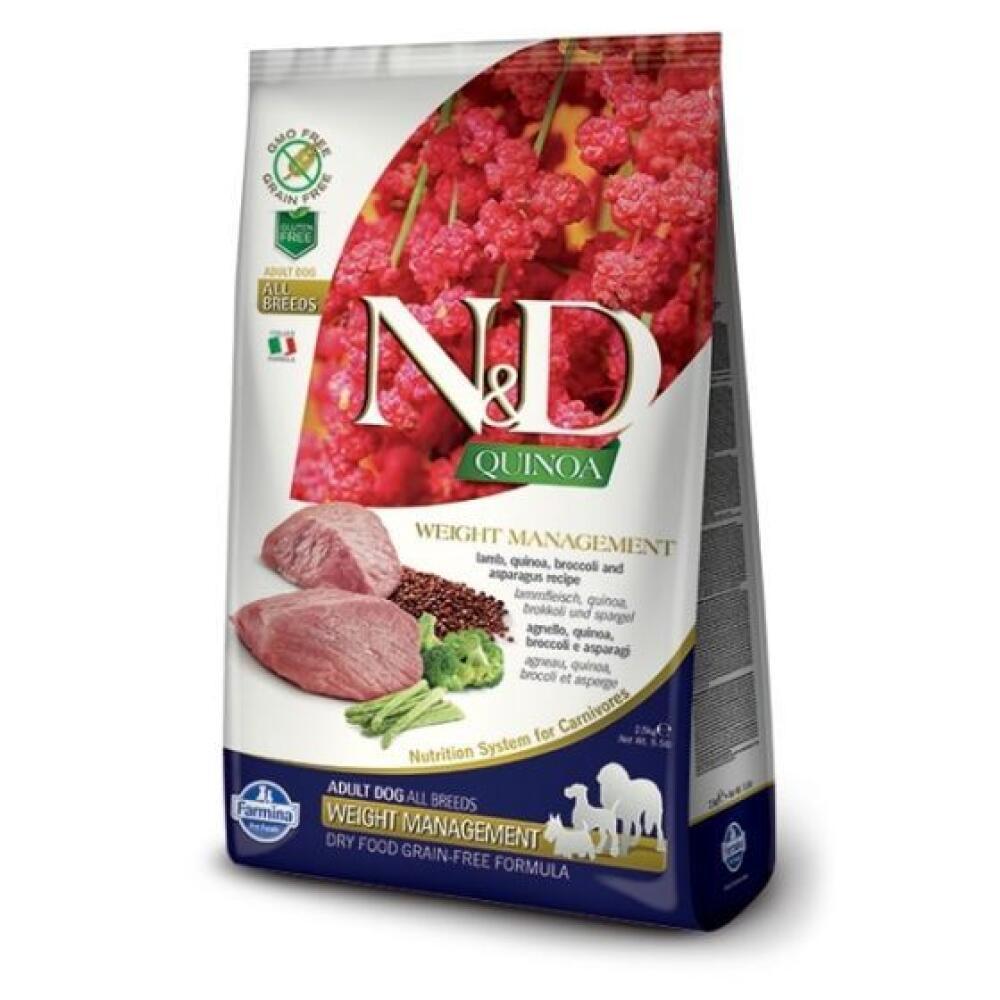 farmina quinoa weight managment lamb
