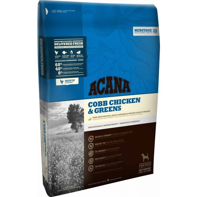 Acana Cobb chicken and greens 6kg