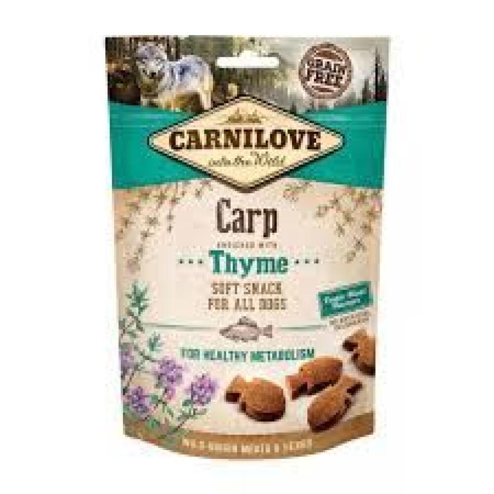 Carnilove carp thyme soft snack 200g