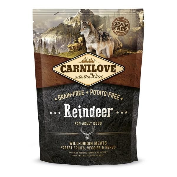 carnilove reindeer 1,5kg