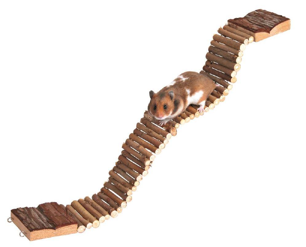 Hamsterleke Bevegelig Bru 55,5x7cm