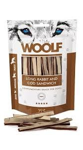 Woolf long rabbit sandwich 100gr