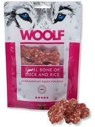 Woolf small duck bone 100gr