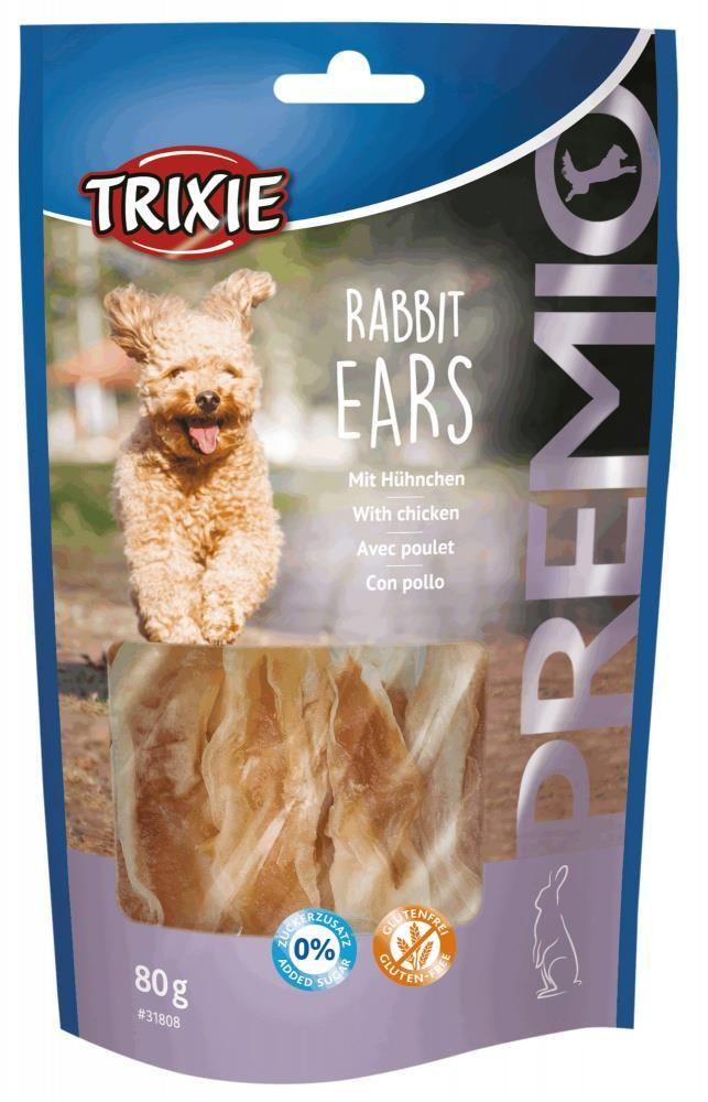 Trixie premio rabbit ears m/kylling 80gr