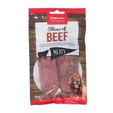 Dogman slices of beef 80g