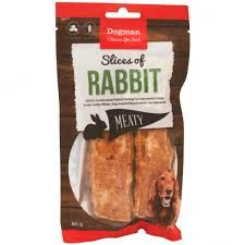 dogman slice of rabbit 80g