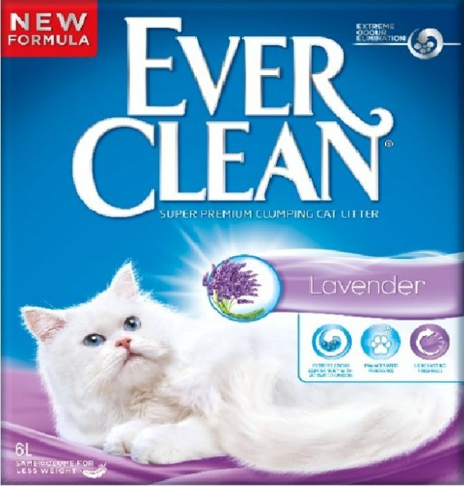 Ever Clean Lavendel 6l