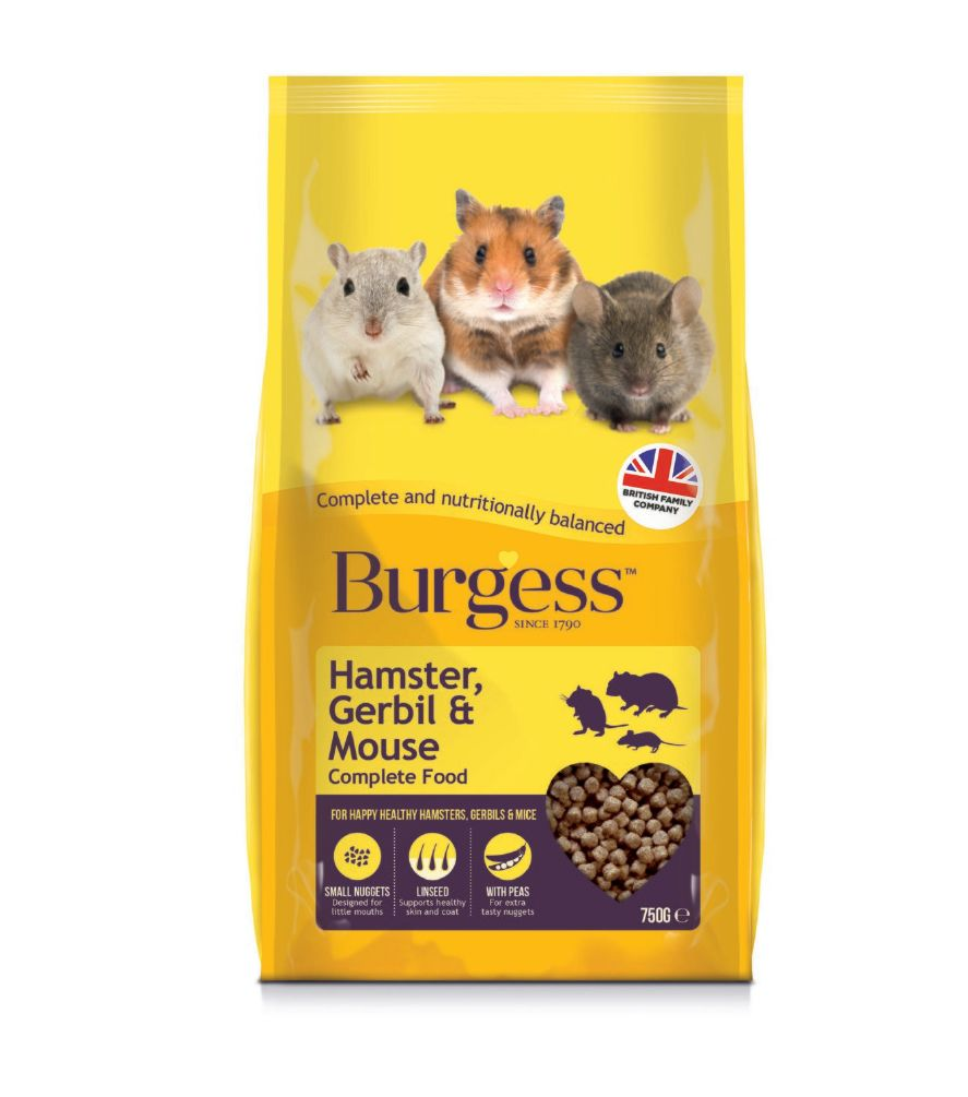 Burgess hamster 750gr
