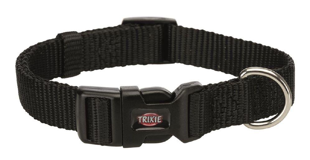 Halsbånd premium m-l 35-55cm sort
