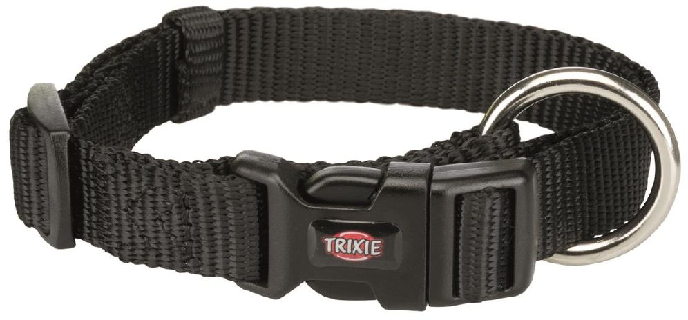 Trixie halsbånd sort S/M 30-45cm