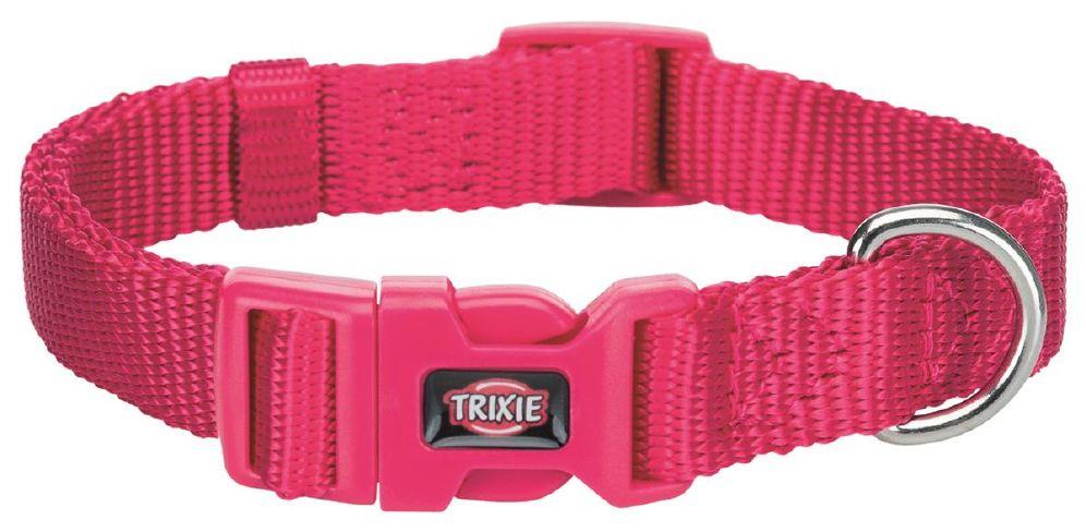 Halsbånd premium 30-45cm/15mm s-m rosa