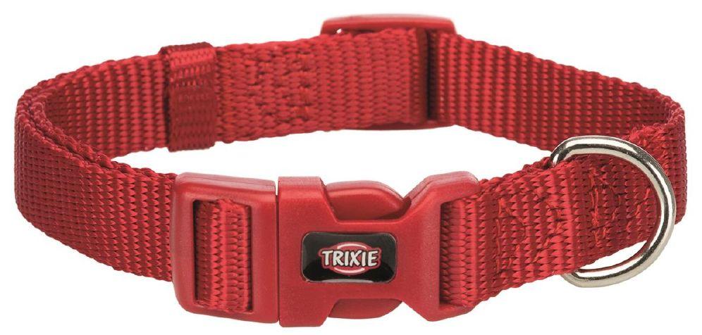 Halsbånd premium 25-40cm/15mm s rød