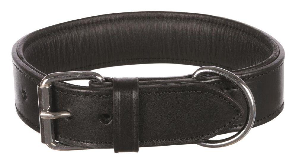 Halsbånd active lær 55-65cm/40mm