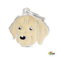 My Familiy Golden Retriever tag
