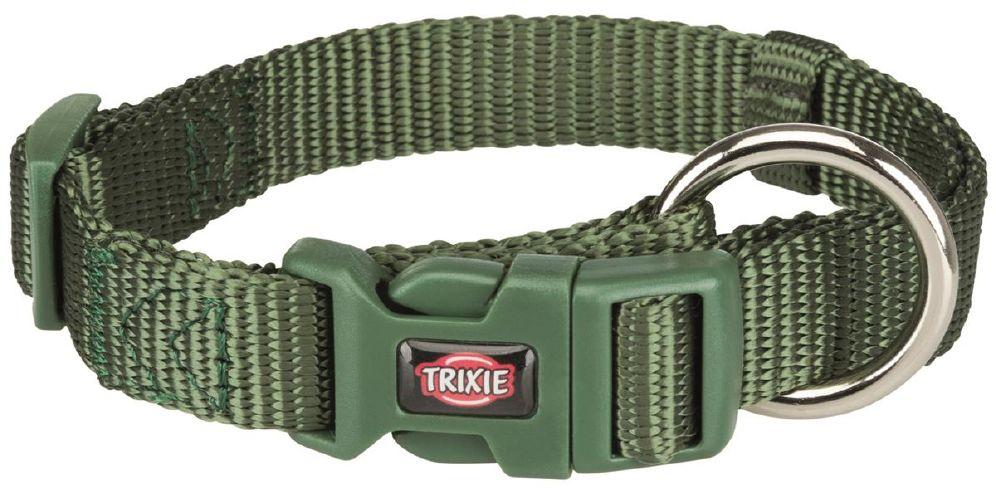 Trixie halsbånd 30-45cm/15mm s-m grønn