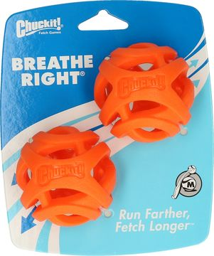 Chuckit breathe right medium 2pk