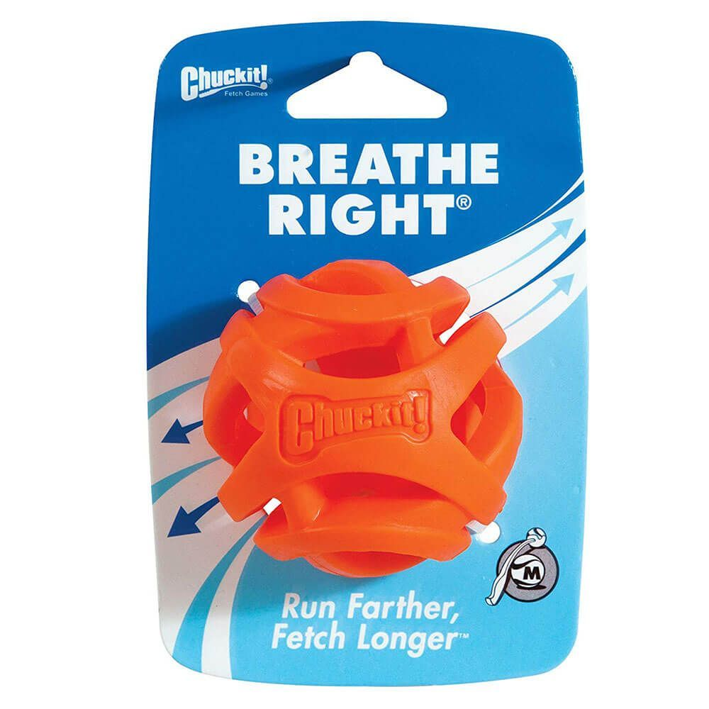 Chuckit breathe right medium