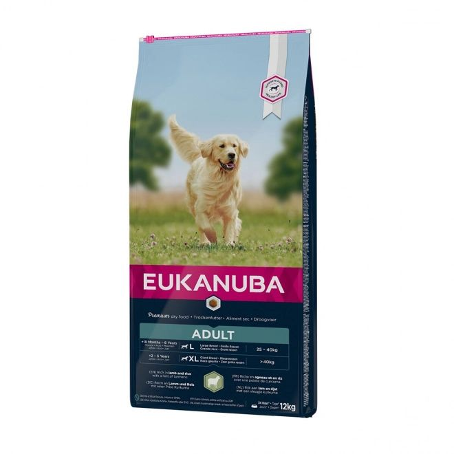 Eukanuba adult large breed lam&ris 12kg