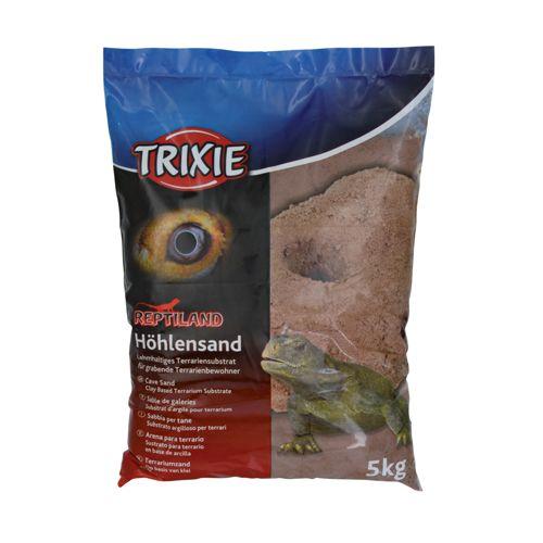 Trixie Hule Sand mørkerød 5kg