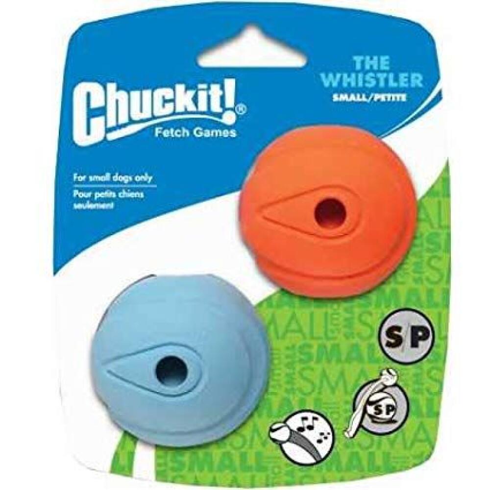 Chuckit the whistler small 2pk