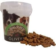 Olivers Training bites beef/rødbet 500gr