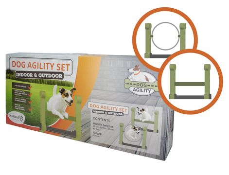 Indoor agility set