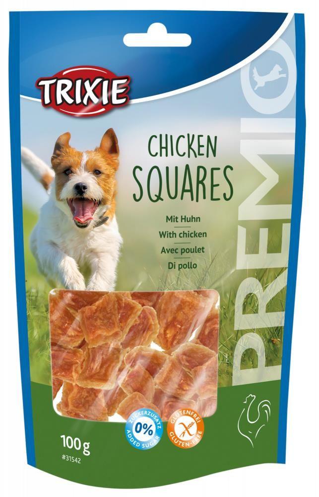 Trixie premio chicken squares 100gr